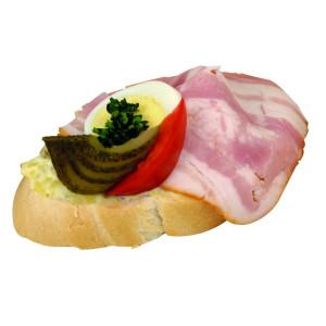 Chlebíček lahůdkový